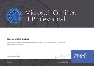 Microsoft IT Professional